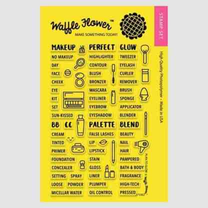 Waffle Flower Crafts Plan to Glow Stamp Set