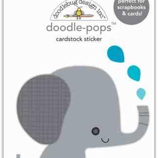 Doodlebug Design Doodle Pops Eddie Elephant