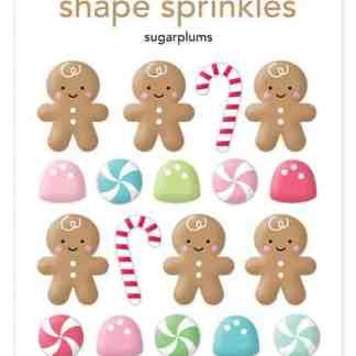 Doodlebug Design Milk & Cookies Sprinkles Sugarplums