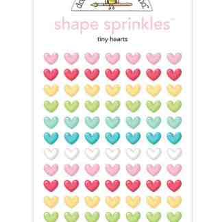 Doodlebug Design So Punny Shape Sprinkles Tiny Hearts