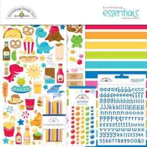 Doodlebug Design 12x12 Essentials Kit So Much Pun