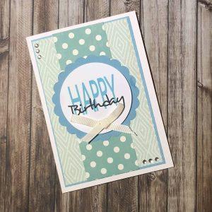 Handmade Card Kit Happy Birthday B