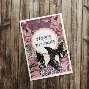 Handmade Card Kit Happy Birthday C