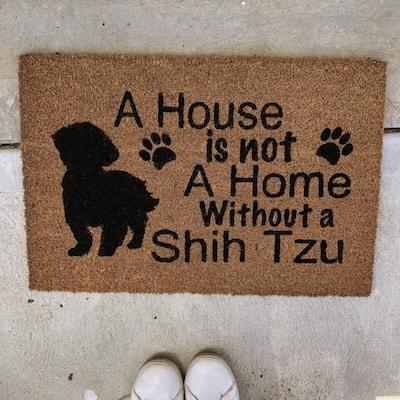 Custom Made Door Mat A House is not a Home