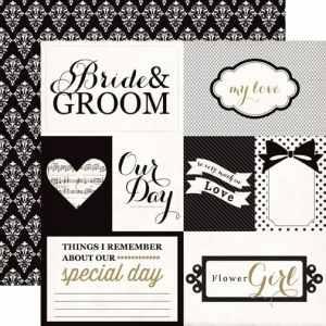 Echo Park 12x12 You & Me Bride & Groom