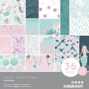 Kaisercraft Paper Pad Mermaids