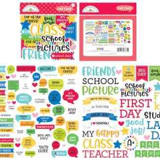Doodlebug Design Chit Chat School Days