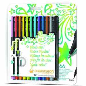 Chameleon Fineliners Bright Colors