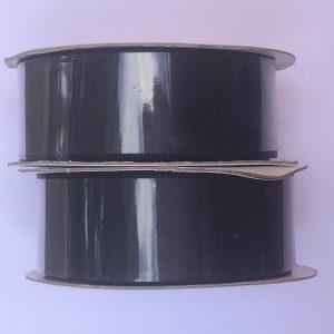 Kaisercraft Ribbon Roll Double Satin Black