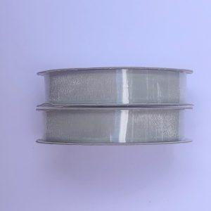 Kaisercraft Ribbon Organza Silver 13mm