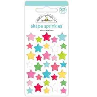Doodlebug Design Shape Sprinkles Christmas Wishes