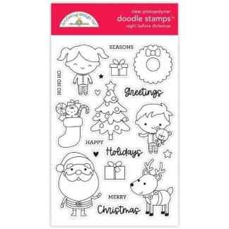 Doodlebug Design Doodle Stamps Night Before Christmas