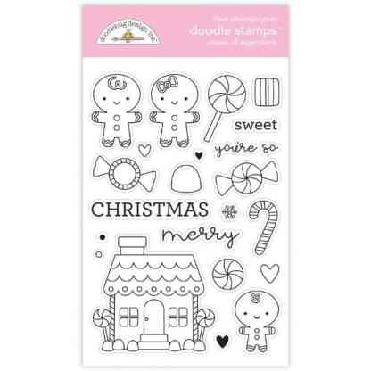 Doodlebug Design Doodle Stamps Visions of Sugarplums