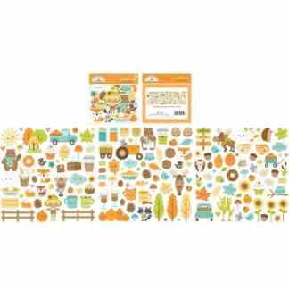 Doodlebug Design Odds & Ends Pumpkin Spice