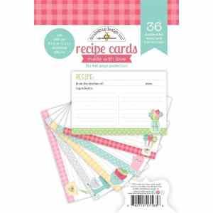 Doodlebug Design Made with Love Recipe Cards