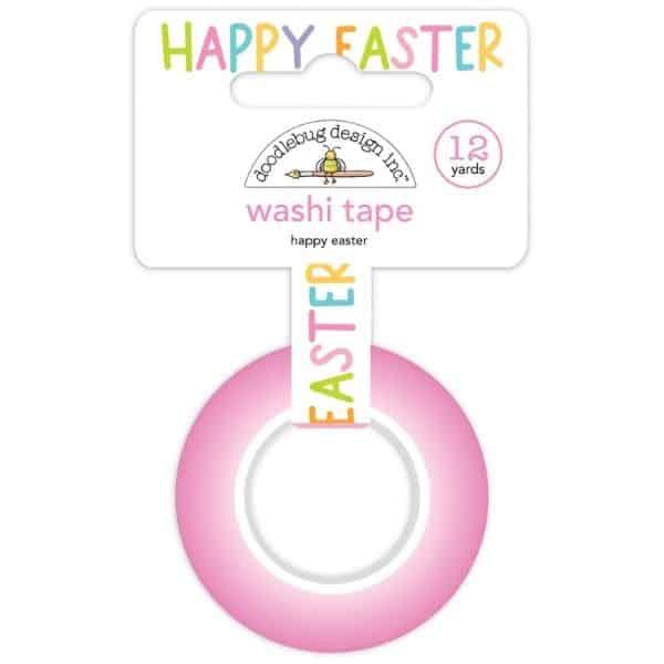 Doodlebug Design Washi Tape Happy Easter