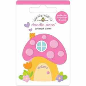 Doodlebug Design Doodle Pops Fairy House
