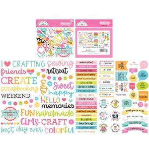 Doodlebug Chit Chat Cute and Crafty