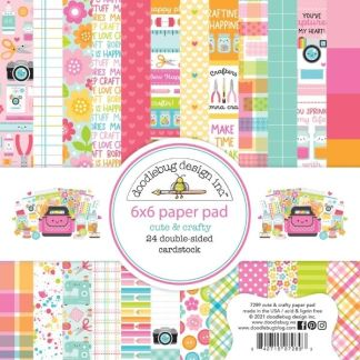 Doodlebug 6x6 Paper Pad Cute and Crafty