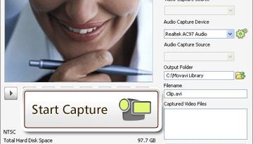 Movavi HD video recorder