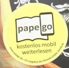 Papego-Sticker