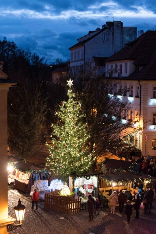 28B Prag, Tschechien, Czech Republic, sightseeing, city, night, christmas