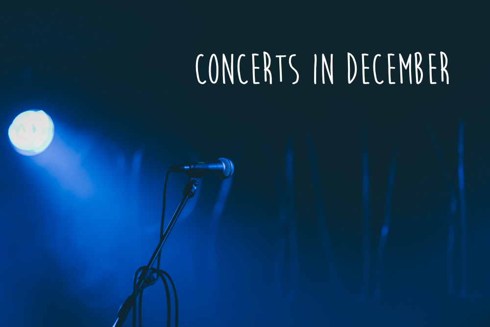 Concerts you have to see in December in Berlin