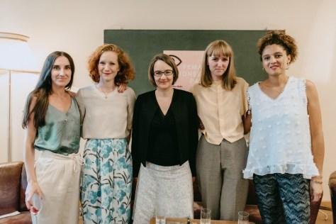 Mirna Funk, Teresa Bücker, Elke Buhr, Sarah Gottschalk, Silvia Binggeli_Casper_#1 Female Pioneer Panel_Kerstin Musl_49