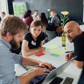 Tag 1_Chancen Hackathon 2019_Innovationsbüro Berlin_© Kerstin Musl_82