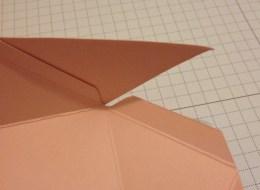 Diamantbox Dreieck einkleben 1