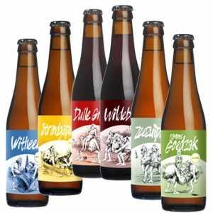Bierpakket Biertje 6- Streek bierpakket gevuld met lokaal bier en streekproducten - Bierpakket cadeau - www.kerstpakkettencadeaubon.nl