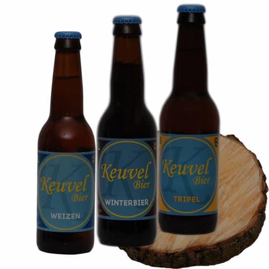 Bierpakket Keuvel 3 op schijf - Keuvel Bier Westfries biergeschenk gebrouwen in Noord-Holland - Biergeschenk Specialist - www.kerstpakkettencadeaubon.nl