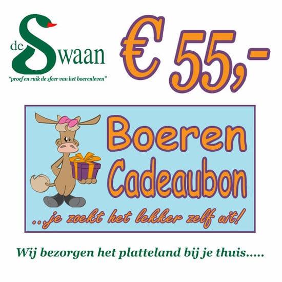 Boeren Cadeaubonnen 55 - Een Cadeaubon is het ideale kerstpakket voor elke medewerker - Bestel bij BoerenCadeaubon- www.KerstpakkettenCadeaubon.nl