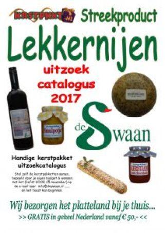 Kerstfolder 2017 - Streekproducten kerstpakketten - www.KerstpakkettenCadeaubon.nl