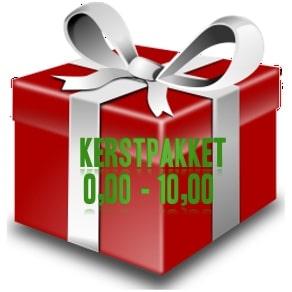Kerstpakket € 0,00 - 10,00 - zoek je een kerstpakket voor een goedkope prijs - www.KerstpakkettenCadeaubon.nl
