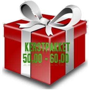 Kerstpakket € 50,00 - € 60,00
