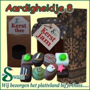 Relatiegeschenk Aardigheidje 8 - streek kerstpakket gevuld met huisgemaakte streekproducten - www.kerstpakkettencadeaubon.nl
