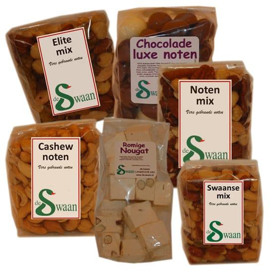 Kerstpakket Noten 6 - Kaas en noten Specialist