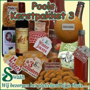 Kerstpakket Pools 3- Streek kerstpakket gevuld met puur Noord-Hollandse streekproducten - www.kerstpakkettencadeaubon.nl