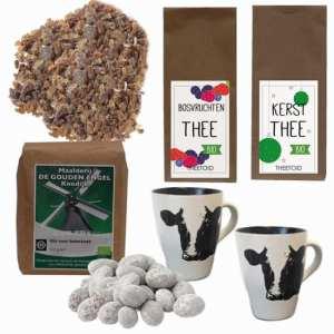 Kerstpakket Thee voor twee – Thee Cadeaupakket