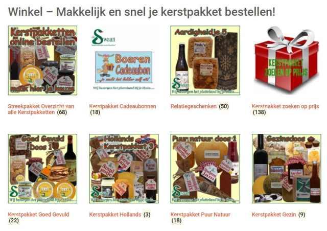 Kerstpakket winkel - Traditionele kerstpakketten - profiteer nu met vroegboek korting - www.kerstpakkettencadeaubon.nl