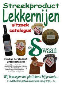 Streekproducten lekkernijen kerstfolder - lekker zelf je favoriete streekproducten uitzoeken - www.kerstpakkettencadeaubon.nl