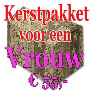 Verrassingspakket voor de Vrouw 55 - Mystery pakket - verras je vrouw - www.kerstpakkettencadeaubon.nl