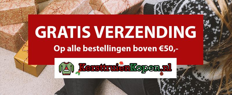 Kersttruien kopen? Profiteer van GRATIS verzending op alles bestellingen boven de 50 Euro!