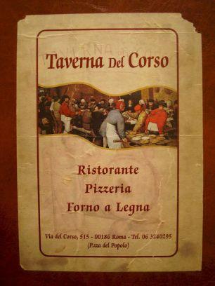 Taverna Del Corso