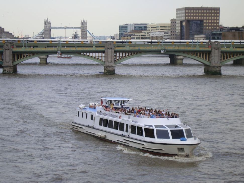 London street, London and Photographs - River Thames