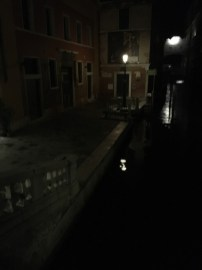 pictures of venice italy at night