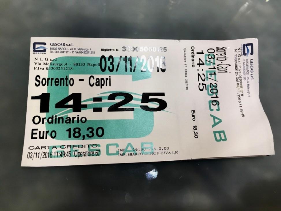 Beverello Sorrento Boat Naples Ferries & Hydrofoils