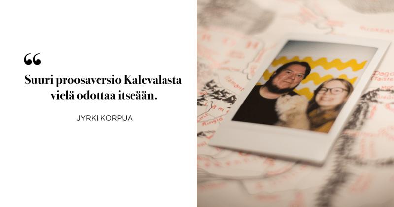 Fantasiakirjallisuus Jyrki Korpua