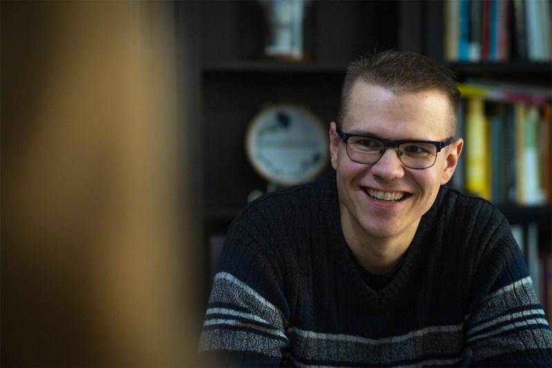 Nuortenkirjalija Mikko Koiranen